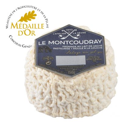 Le-Montcoudray-150g---lait-de-vache-pasteurisé--médaille-d'or-Concours-général-agricole-2017---Atelier-de-la-sèvre