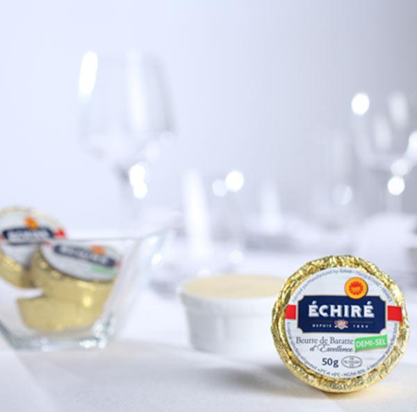 Recharges - Beurre AOP Echiré - Beurre Doux - Beurre Demi-sel - Beurre de Baratte bois - Beurre d'excellence - Echiré